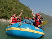 Private Day Bhotekoshi Rafting